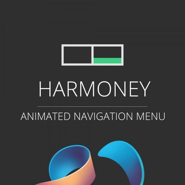 Harmony animated Navigation