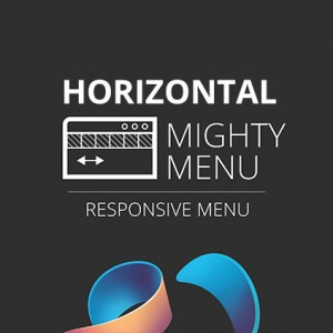 Mighty Menu Horizontal