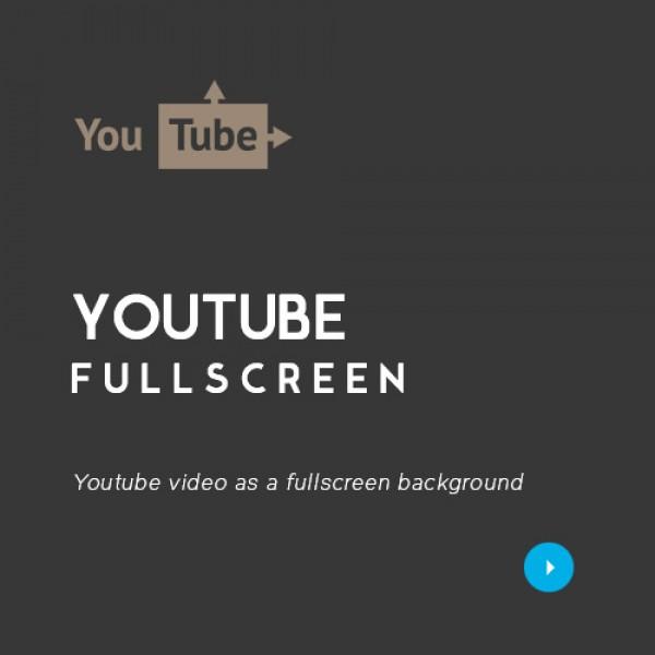 YouTube Fullscreen video