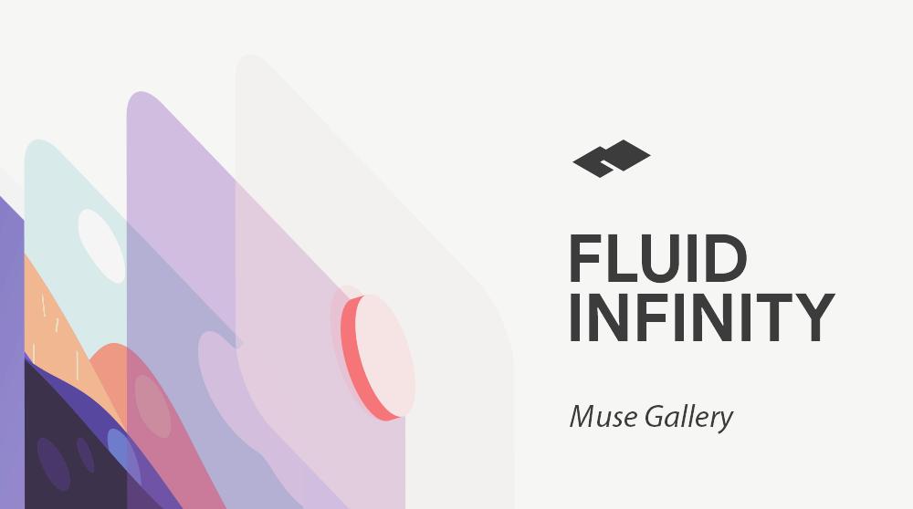 Fluid Infinity Muse Responsive Gallery Widget